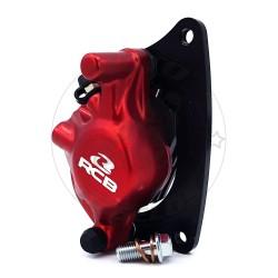 Δαγκάνα Μονοπίστονη Honda GTR 150 Racing Boy Κόκκινη