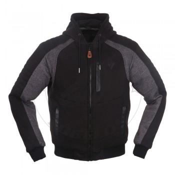 Μπουφάν Modeka Hoody Hootch Χρώμα Μαύρο-Γκρι 086690