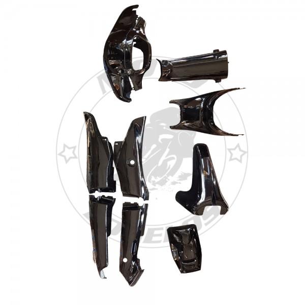 Κουστούμι Kriss II Χρώμα Μαύρο Χωρίς Ποδιές Roc
