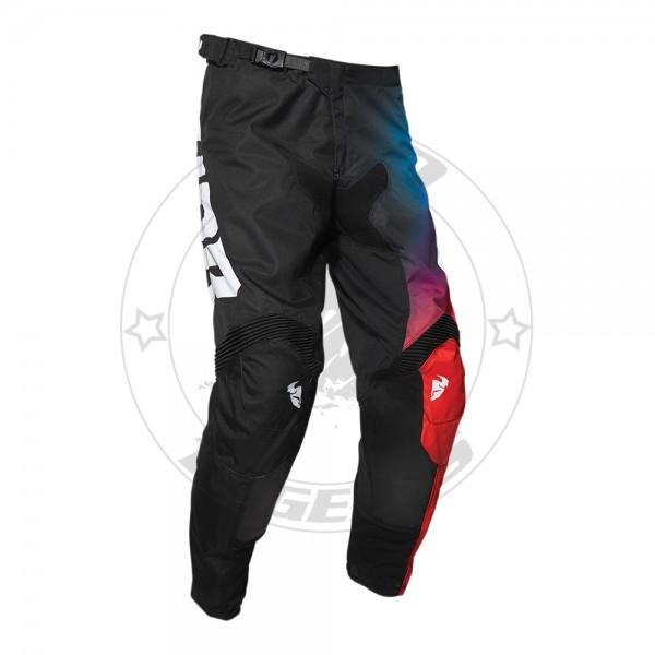 Παντελόνι Thor Pulse Glow Χρώμα Μαύρο/Πορτοκαλί/Μπλε Μέγεθος 36