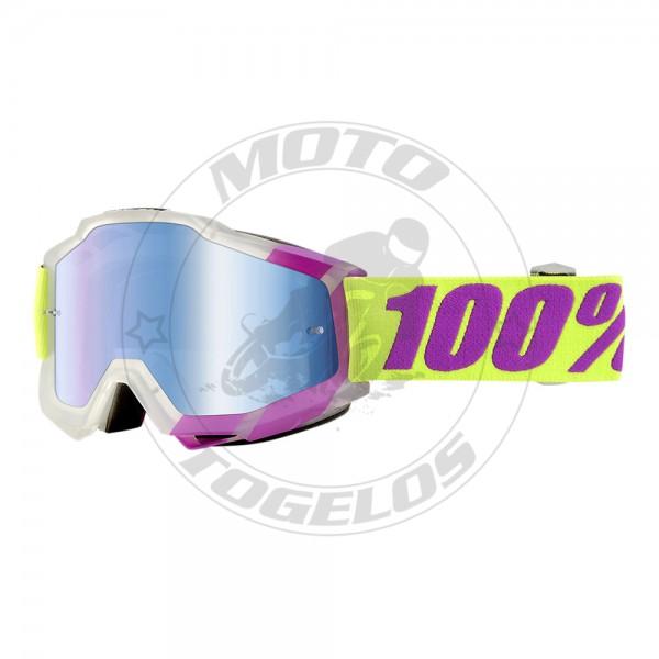 Γυαλιά The Accuri Χρώμα Διάφανο/Μωβ με Λαχανί Λάστιχο 100%
