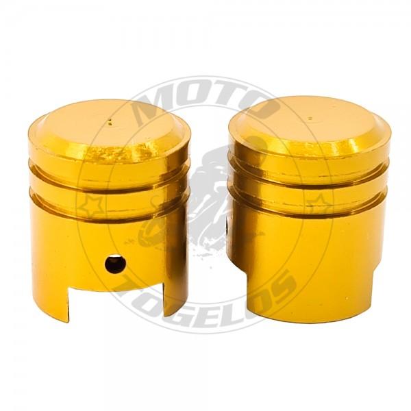 Τάπες Βαλβίδων B211YL Keiti Χρώμα Χρυσό