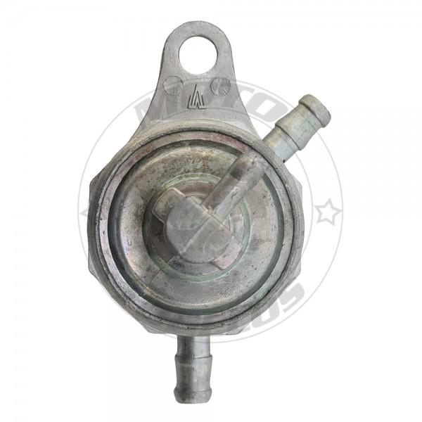 Ρουμπινέτο Βενζίνης GY6 50cc Στρογγυλό με 2 Εξόδους Roc