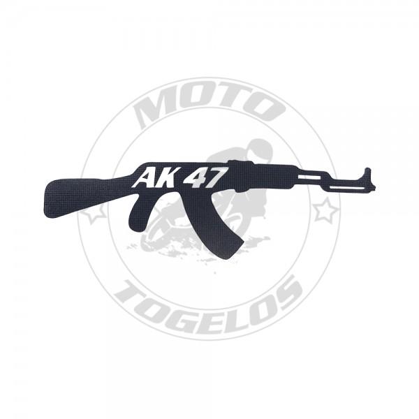 Αυτοκόλλητο Όπλο AK-47 Black
