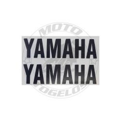 Αυτοκόλλητο Yamaha Διπλό Ανάγλυφο Χρώμα Μαύρο 8x5cm