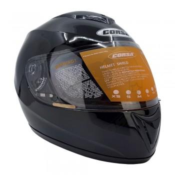 Κράνος Corsa CN110 Χρώμα Μαύρο